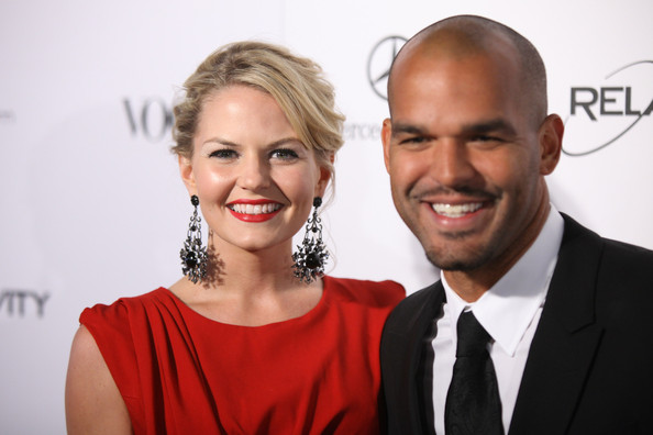 Jennifer Morrison and then boyfriend Amaury Nolasco