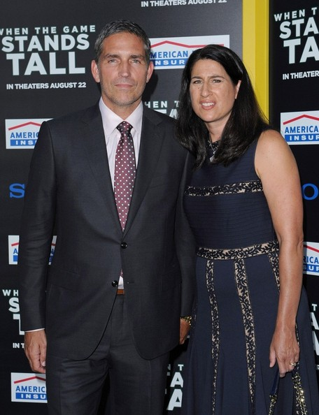 Jim Caviezel with wife Kerri Browitt
