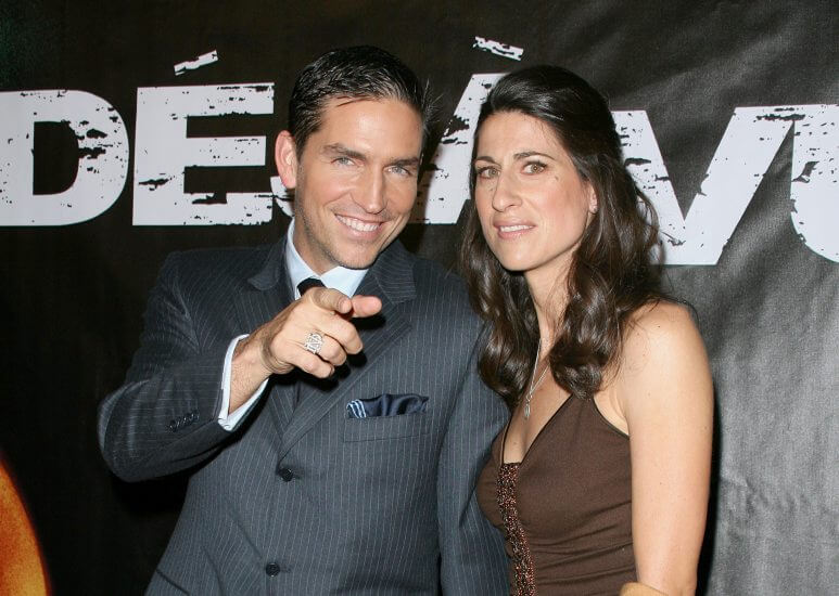 Jim Caviezel and wife Kerri Browitt