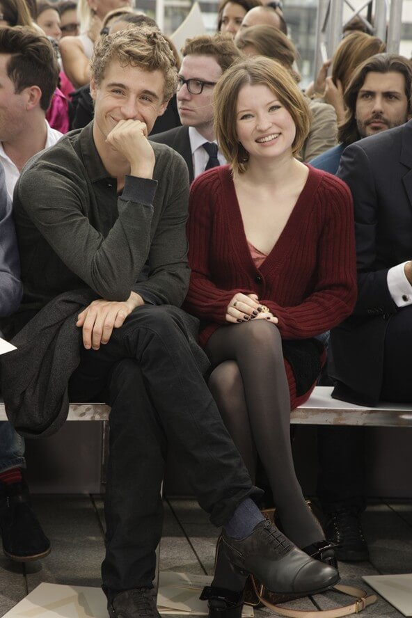 Max Irons and Emily Browning