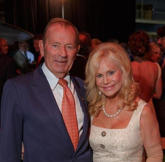 Pat Bowlen and wife Annabel Bowlen