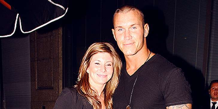 Randy Orton and Wife Samantha Spano