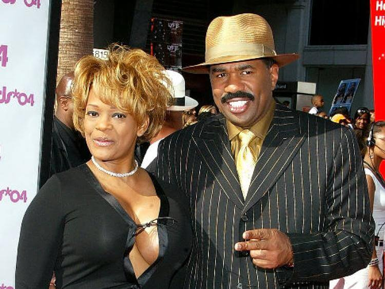 Steve Harvey and ex-wife Mary Lee Harvey