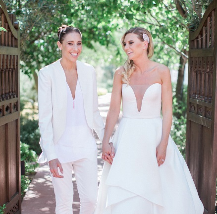 Diana Taurasi and Wife Penny Taylor
