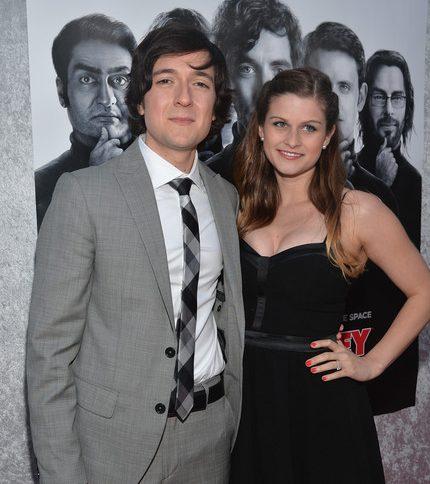 Josh Brener and His Wife Megan Falcon