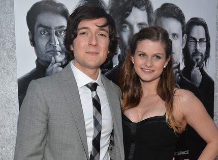 Josh Brener and His Wife Megan Falcon
