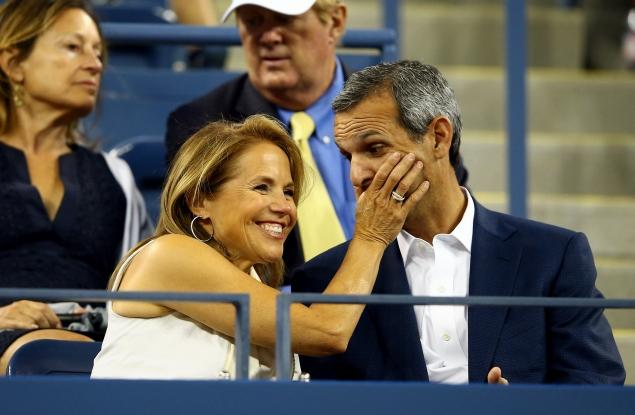 Katie Couric engagement ring