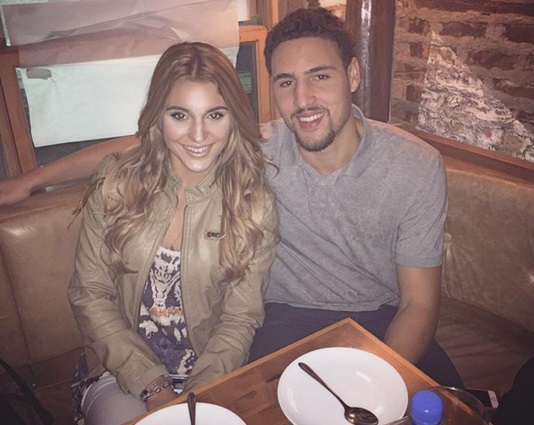 klay thompson and tiffany suarez
