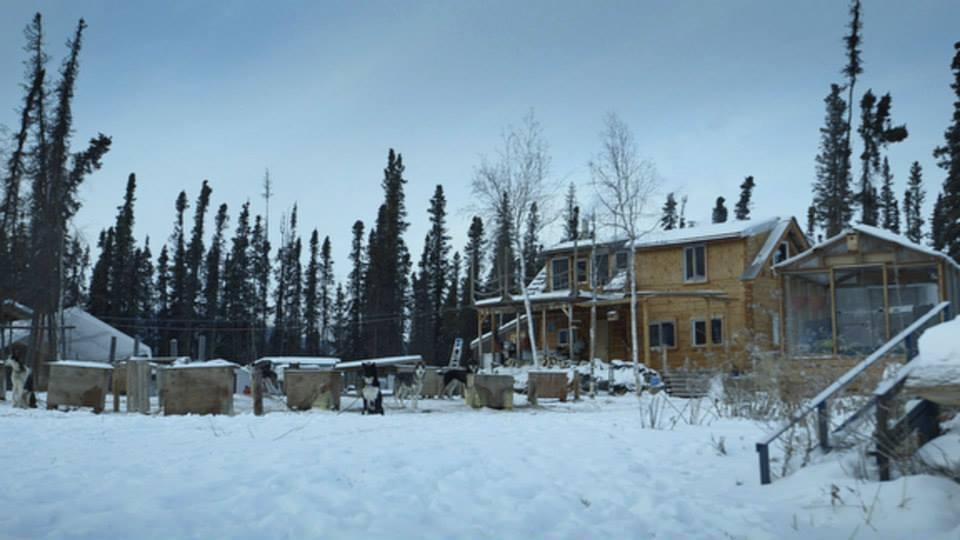 Andy Bassich cabin Alska