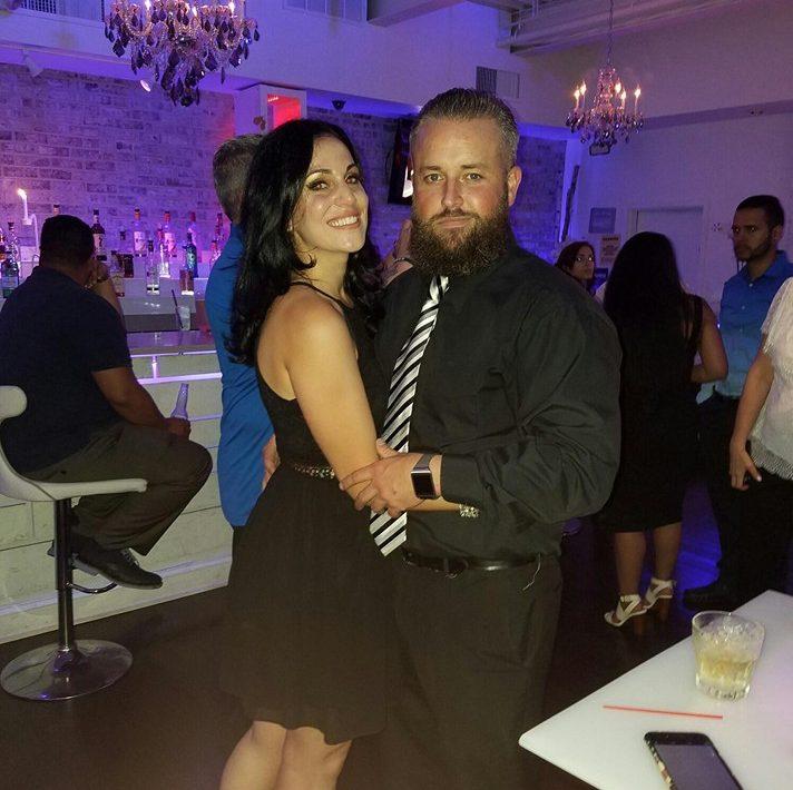 Jenna Vulcano and her boyfriend
