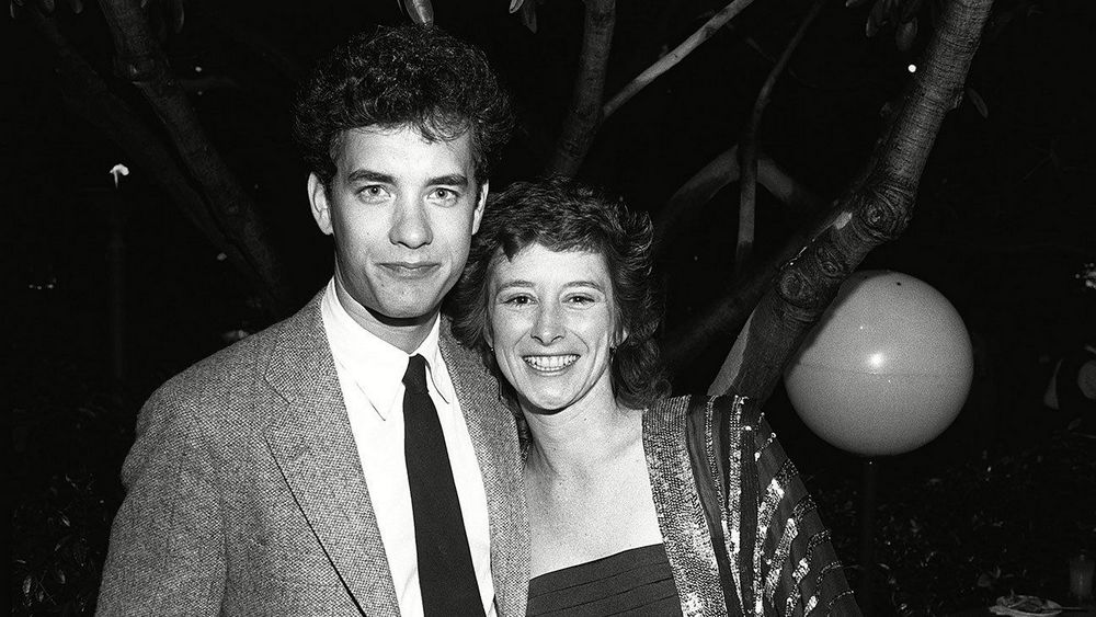 Tom Hanks and Samantha Lewis