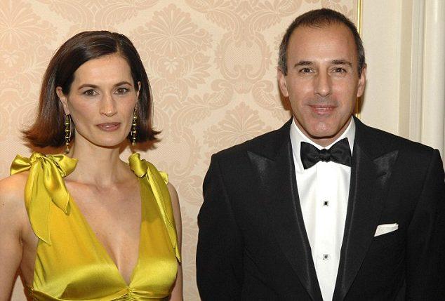 Matt Lauer and Annette Roque