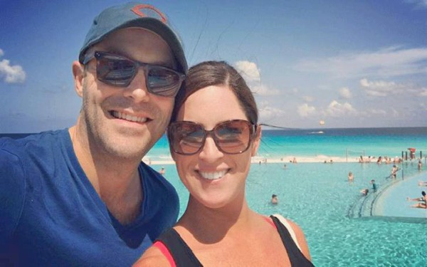 Brad Zibung and his wife Sarah Spain