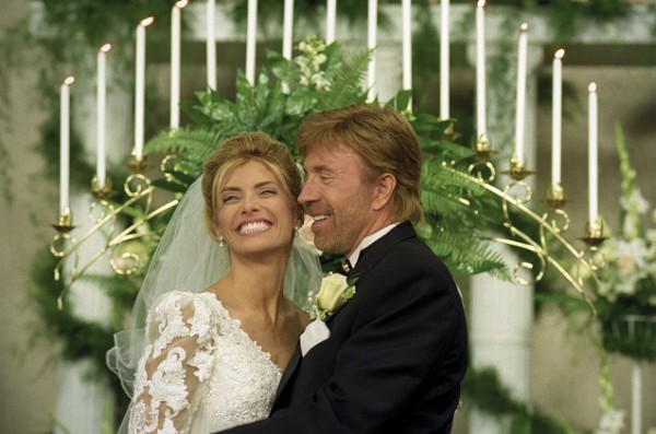 Chuck Norris and Gena O'kelley wedding