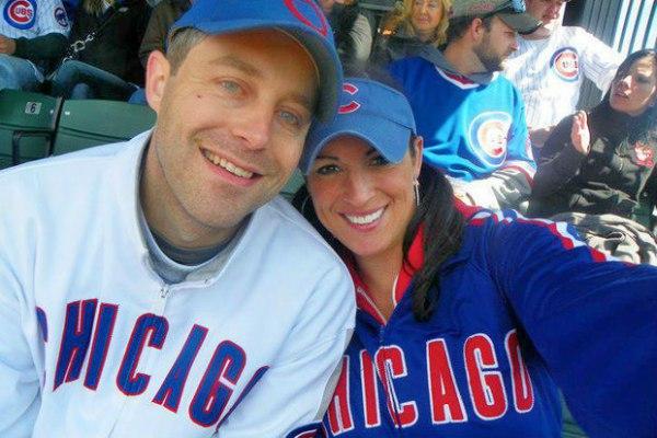 Sarah Spain and Brad Zibung