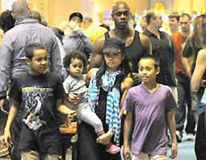Dave Chappelle Wife Elaine Chappelle all family picture