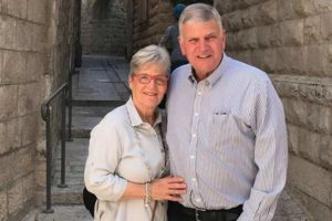 Franklin Graham and his wife Jane Austin Graham