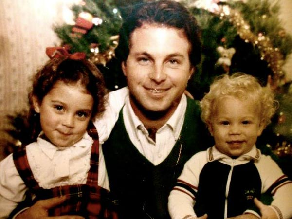 Beautiful Family Picture: Storage Wars' Mary Padian with her father while she was young