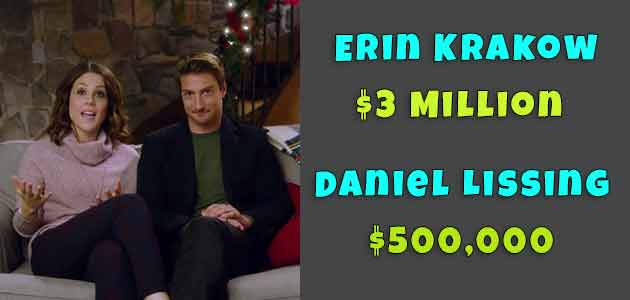 Erin Krakow and Daniel Lissing Net Worth