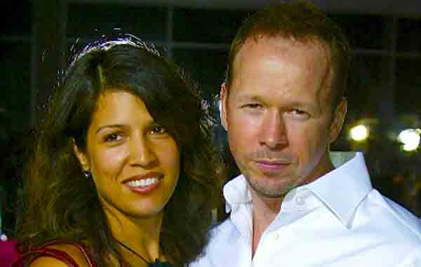 Donnie Wahlberg exwife Kimberly Fey.