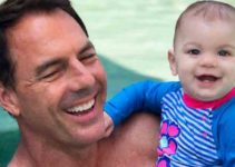 Mark Steines beautiful wife new baby.