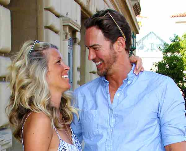Wes Ramsey and Laura Wright relationship