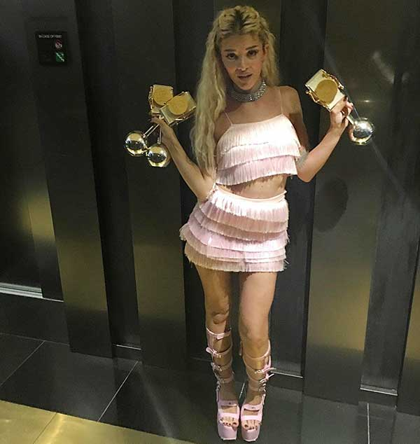 Era Istrefi won best female awards
