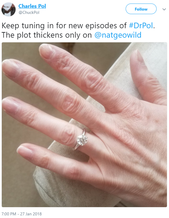 Charles Pol engagement ring