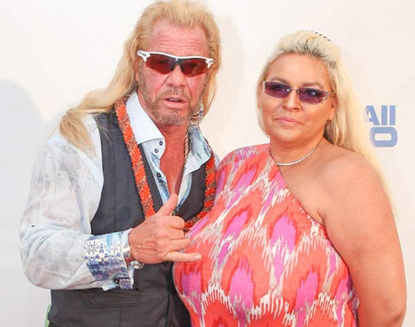 Image of Beth Smith with her husband Duane Chapman