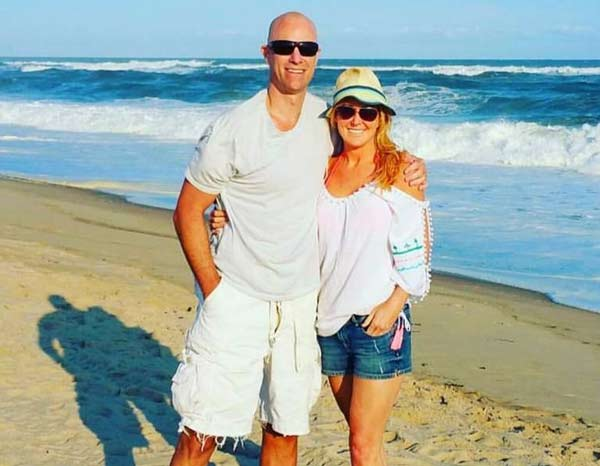 Image of Heather Childers with her boyfriend Thomas