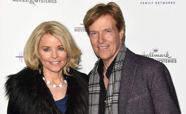 Image of Jack Wagner and his wife Kristina Wagner