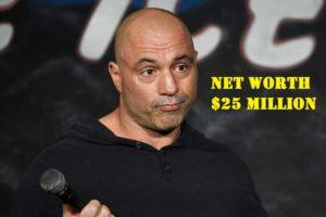 Image of Joe Rogan net worth is $25 million