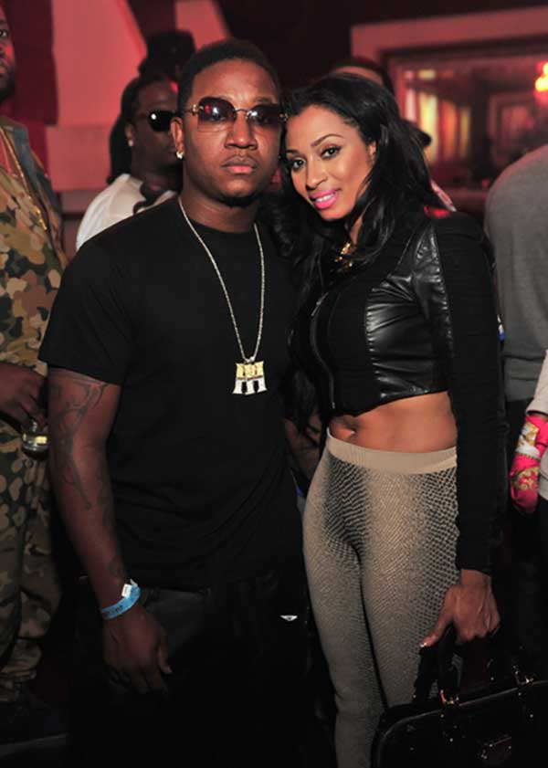 Image of Karlie Redd with her boyfriend Yung Joc