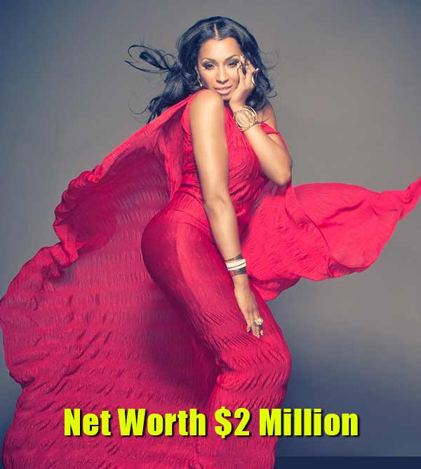 Image of Karlie Redd net worth which is $2 million