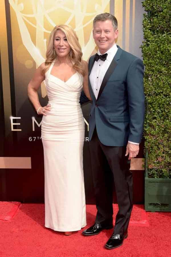 Image of Lori Greiner with her husband Dan Greiner