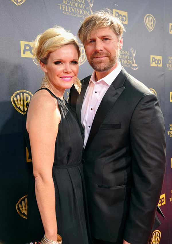 Image of Maura West with her husband Scott DeFreitas