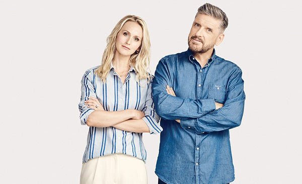 Image of Megan Wallace Cunningham with her husband Craig Ferguson