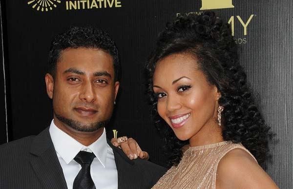 Image of Misheal Morgan with her husband Navid Ali