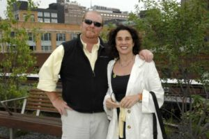 Image of Susi Chan with her husband Mario bataile