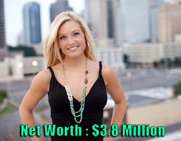 Image of Anna Kooiman net worth is $3.8 million