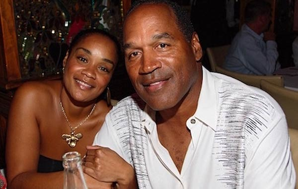 Image of Arnelle Simpson with her father O.J simpson