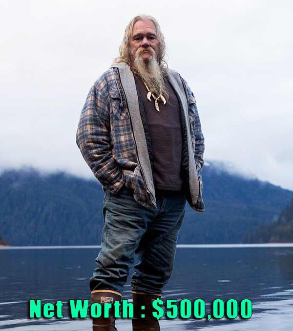 Image of Alaskan Bush People Cast Billy Brown net worth is $500,000