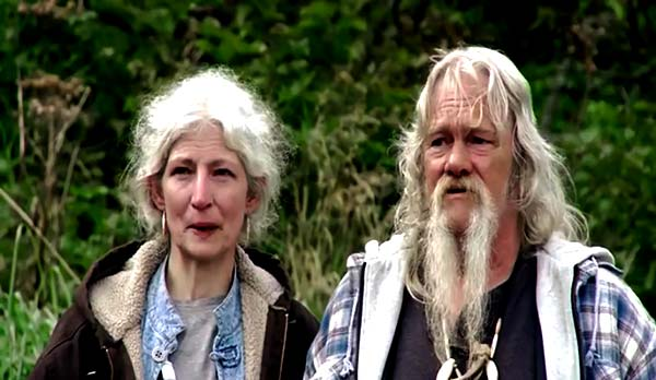 Image of Alaskan Bush People Cast Billy Brown with his wife Ami Brown