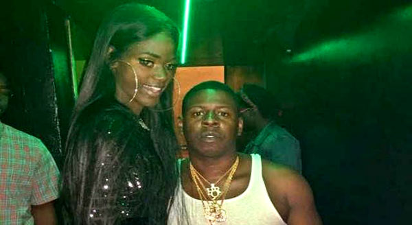 Image of Blac Youngsta with his girlfriend Bell Williams