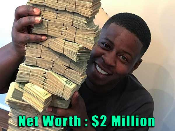 Image of Rapper Blac Youngsta net worth is $2 million