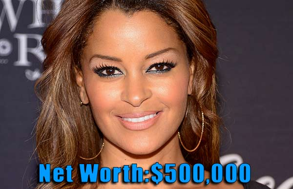 Image of The Realhouse wife cast Claudia Jordan net worth is $500,000