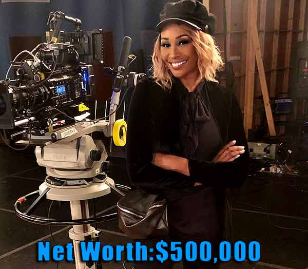 Image of The real housewife cast Cynthia Bailey net worth is $500,000