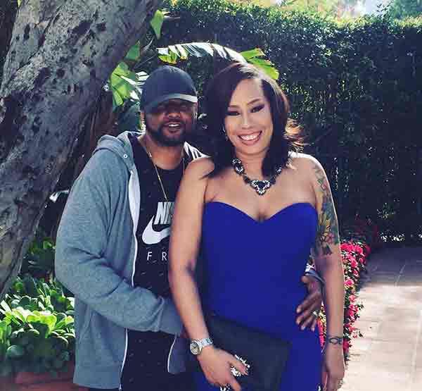 Image of Alex Martin with her husband, Bernard Dean