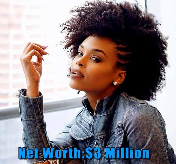 Image of The Realhouse wife cast Demetria Mckinney net worth is $3 million