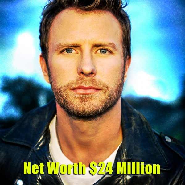 Image of Dierks Bentley net worth is $24 million